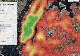 Walk Score 'ChoiceMaps' show depth of neighborhood amenities