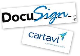 DocuSign's e-signatures, Cartavi transaction management platform now available as a bundle
