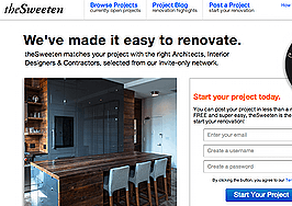 TheSweeten matches remodeling projects with specialists