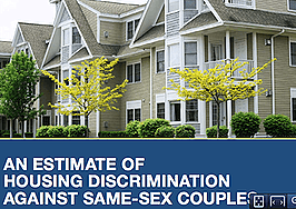 Study reveals housing discrimination against gay and lesbian couples