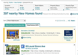 Realtor.com adds new-home communities, NAR-branded listings