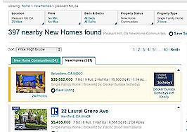 Realtor.com adds new-home communities, NAR-branded listings