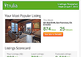 Trulia sending agents listing performance reviews