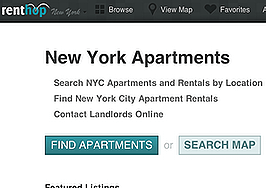 RentHop's mobile app helps landlords connect with renters by letting property managers check-in at listings