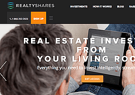 RealtyShares, real estate crowdfunder, launches first equity deal