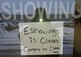 EShowings shuts down after founder reports to prison