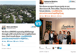 Drone tours vs. open-house office parties