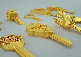KeyMe now offering customizable 3-D keys