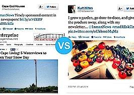 Produce prospecting vs. 'sponsored content'