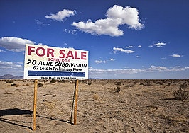 Stalled real estate developments aren't a deductible expense until they're abandoned