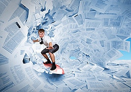 Most real estate brokerages have gone paperless