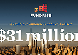Fundrise, real estate crowdfunder, raises $31 million