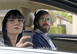 Realtor.com ad campaign suggests homebuyers will be sorry if they use another app