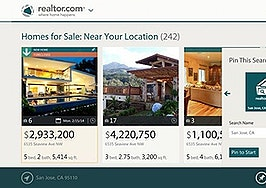 Realtor.com unveils Windows 8 apps for mobile devices and computers