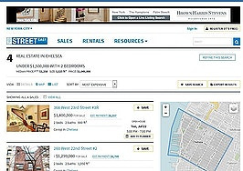 William Raveis framing StreetEasy search results in NYC