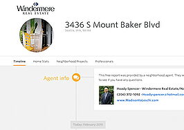 Big real estate company providing remodeling history of listings