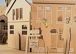 Century 21 leverages cardboard for latest quirky consumer marketing campaign