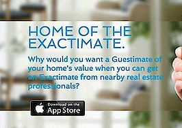 New online home valuations rely on real estate agents