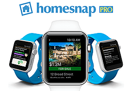 Apple Watch app flags nearby listings for homebuyers