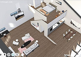 Archilogic 3-D home of the week