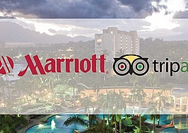 TripAdvisor and Marriott announce partnership to help boost both companies' growth