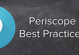 Real estate best practices for live-streaming app Periscope