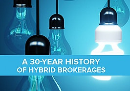 A 30-year history of hybrid brokerages