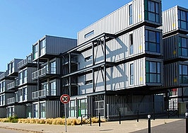 Lucia Container Home is a unique multigenerational home with eye on sustainability
