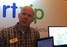 On the Startup Alley floor: SmartZip