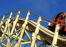 Home sales ride out stock market roller coaster
