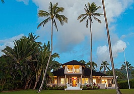 Luxury listing of the day: 3-bedroom retreat (with surfboards) in Hanalei Bay, Hawaii