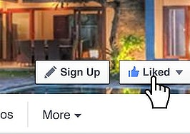 Don't you dare 'like' my Facebook business page