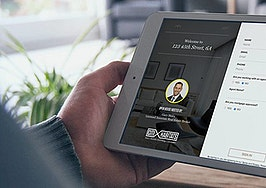 Open house iPad app Spacio Pro can show off RealSatisfied agent testimonials