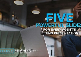 Differentiate yourself with these 5 powerful slides for your listing presentation
