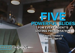 5 powerful slides for every listing presentation