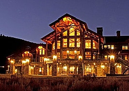 Luxury listing: Mammoth Lake log cabin estate