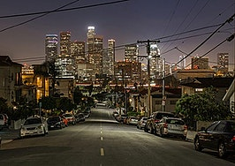 Los Angeles home values