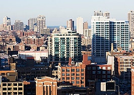 How have home prices changed in Chicago?