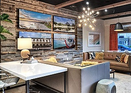 Inside The Boutique Real Estate Group office
