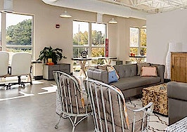 Inside the @ Homes Realty Group offices