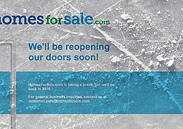 NRT puts its listing portal on ice