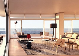 Luxury listing: impeccably designed condo with ocean views