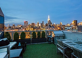 Manhattan penthouse in Chelsea