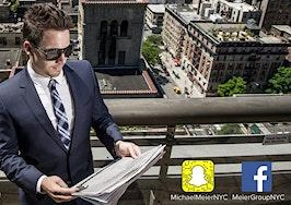 snapchat real estate education