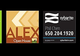 real estate yard sign design