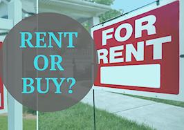 buy vs. rent