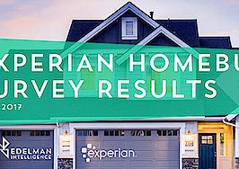Experian Homebuyers Survey 2017