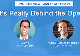 inman real estate scout live interview eric wu