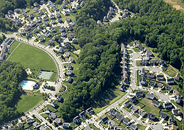 low-density suburbs housing