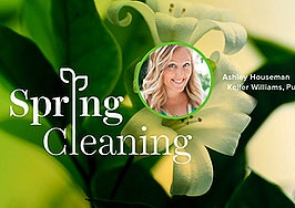 ashley houseman, coldwell banker, spring cleaning, spring forward